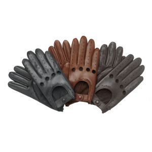 Men/Women soft Leather Driving glove Retro style (cheap)