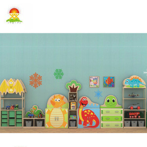 Multifunctional Children's Combined Kids furniture  nursery school furniture kids toys cabinet for sale child safety cabinet
