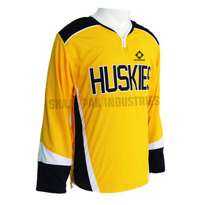 New Trend ice Hockey Jersey Latest Color Logo Design Ice Hockey Jersey