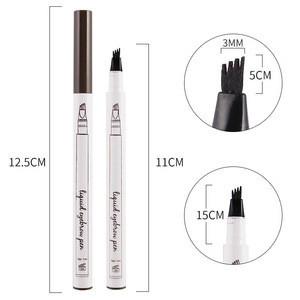 OEM Fork Tip Liquid Microblading Eyebrow Tattoo Pencil Waterproof long lasting Eyebrow Pencil