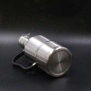 Printing your logo growler beer stainless steel vacuum flask