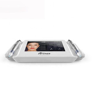 Professional Digital PMU MTS System Tattoo Eyebrow Lip Permanent 2 in 1microneeding Make up Machine Artmex V8