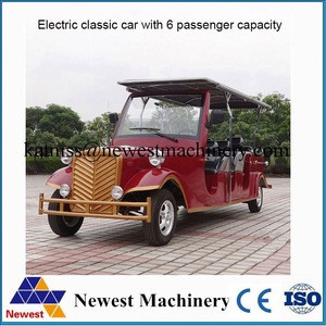 Retro electric classic car for sale/royal chinese car in pakistan/cheaper long range sightseeing car