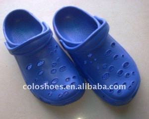Shiny mens eva garden clogs