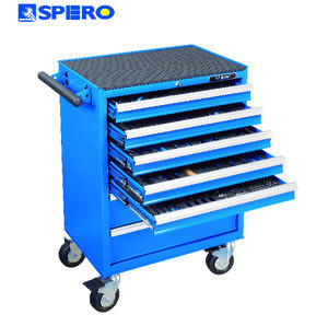 SPERO 258 PC Hand Tools , Socket , Wrench , Pliers Tool Trolley Kit Set