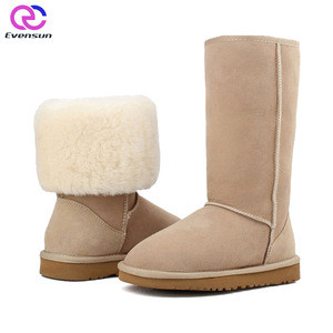 Top Quality Australia Women Sheepskin Snow Boots Wholesale
