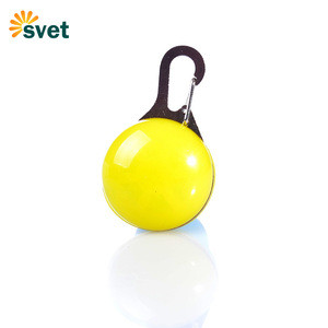 Waterproof Safety Night Walking Lights for Pet Led pet dog pendant light