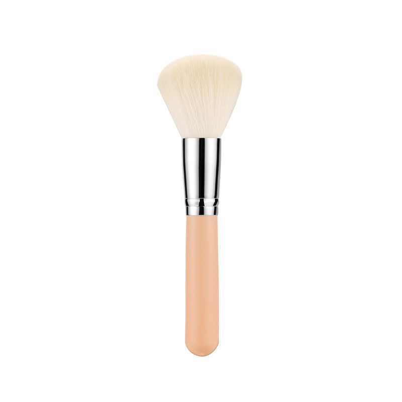Whole Sale 7PCS Synthetic Hair Cosmetic Makeup Brush Set with Leather Bag