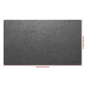 Wholesale Custom Office Writing meeting Desk pad laptop notebook Computer Keyboard mouse gaming waterproof Leather desk Mat