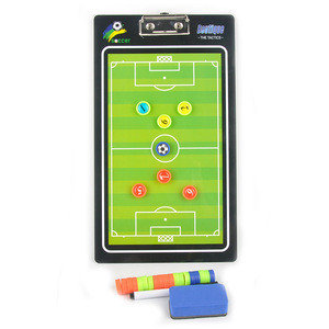 Wholesale Magnetic Coaches Dry Erase Marker Board With Pen Teaching Clip Coaching Clipboard