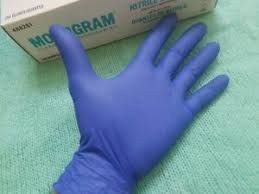 Green Nitrile Gloves Powder Free250 Pcs for sale