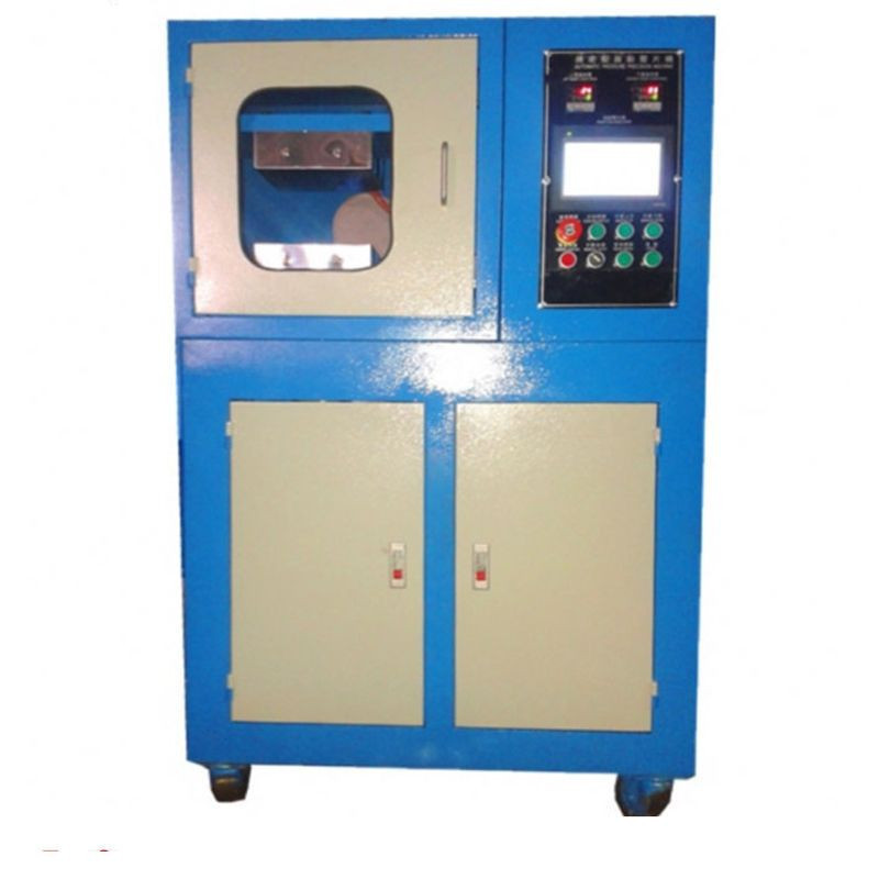 Lab Rubber Hydraulic Press Vulcanizer Machine