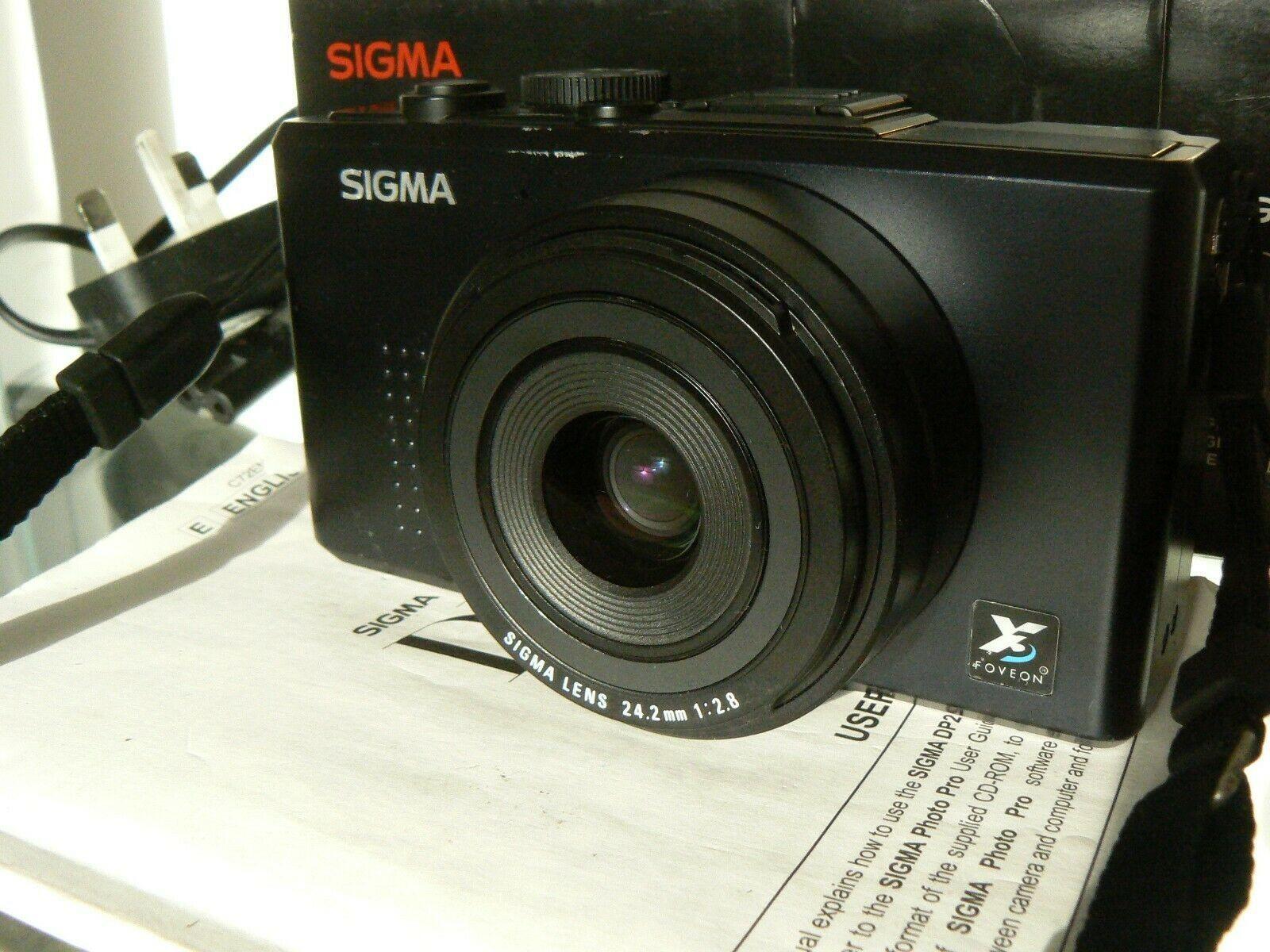 Sigma DP2 Foveon Sensor Digital Camera Boxed