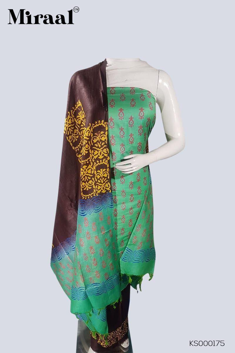 Katan Staple Silk Suit