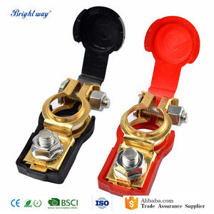 1 Pair auto Battery terminal connector Clamp Clips Negative Positive for Auto Car Truck