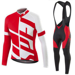 2020 custom cycling winter jersey set men cycling clothing for men bike clothes long cycle suit wear