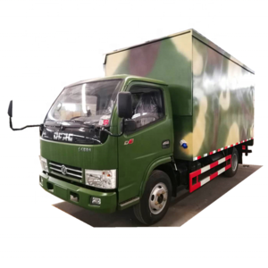 2020 Longwin Dongfeng 4x2 mini refrigerated van and food transportation cargo box trucks