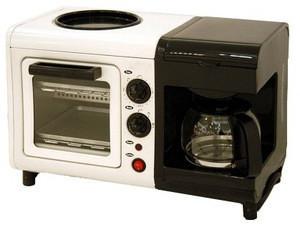 3 In 1 Breakfast Maker ( Coffee Maker;oven; Fry Tray)