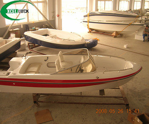 4.8m fiberglass speed boat yacht for sale