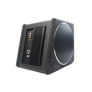 "8"" Compact Car Active Subwoofer"