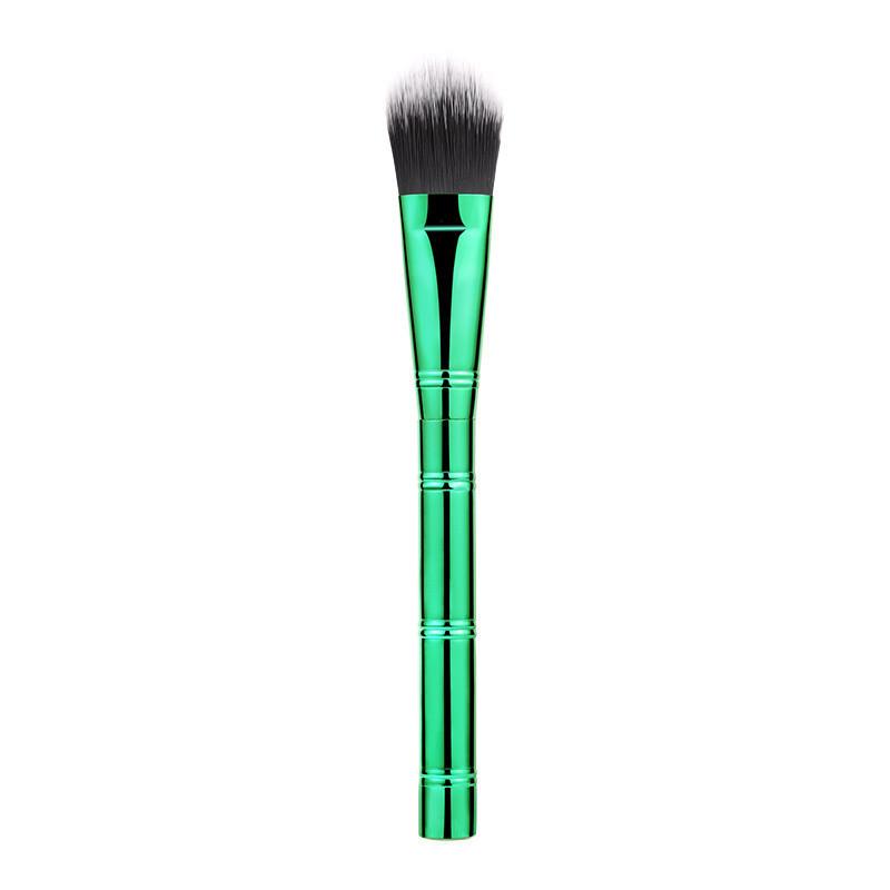 Aluminum Handle Cosmetics Brush Synthetics Hair