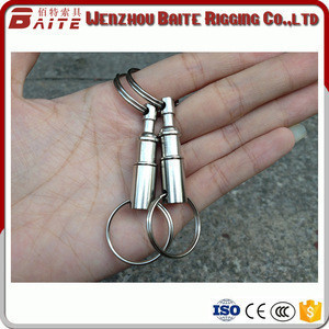 BAI TE Other hardware Remove The Key Ring Double Loop Key Chain