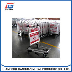 Best Selling High Quality Airport Trolley,airport luggage cart,airport baggage trolley