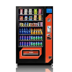 Bus station service station cold drinks orange juice vending machine automatic
