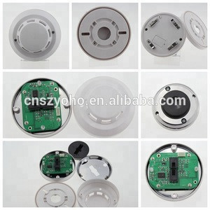 CE qualified best sale 4 wired Smoke Detector Alarm, system sensor 12V traditional smoke detector
