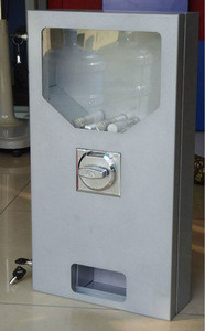 Coin operated metal body toothbrush and pencil vending machine