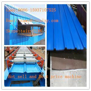Corrugated Iron Roof Sheet making machine / Metal Roof Tile Making Machine