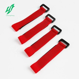 Customized 100% nylon  adhesive tape cable tie hook and loop