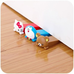 Cute Leave silicone child door stopper