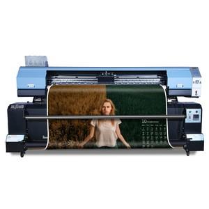 DX5/DX7/5113 print head large format 1.9m flag textile printing machine