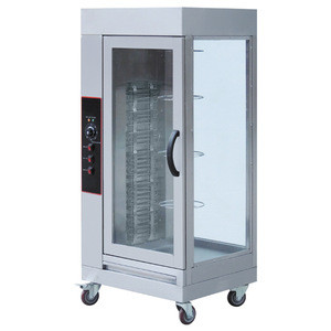 EB-WG01automatic gas rotisserie chicken oven/Stainless Steel Electric Chicken Roasting Equipment