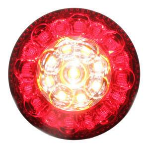ECE CCC KS round motorcycle led fog signal lights indicator lights led truck tail light