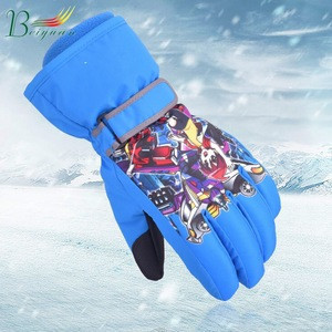 Explosion Models Parent-Child Waterproof Thick Warm Hiking Mountaineering Winter Ski Mitten Gloves Ski