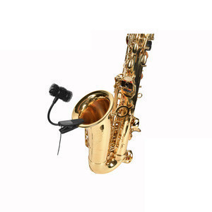 Factory professional product Portable saxophone microphone wireless instrumental system musical instrument condenser microphone