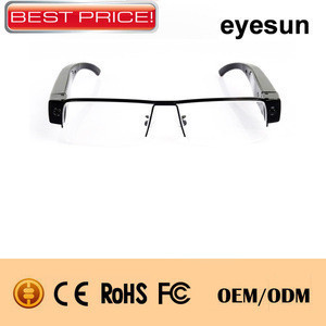 Full HD1080P ,fashion design spy camera glasses , PC web camera function