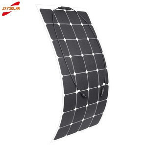 Heigh efficiency ETFE SUNPOWER 100W  semi flexible solar panel