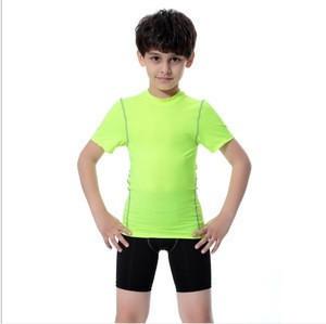 High Quality Breathable Boys Athletic Training Gym Sports Wear Running Shorts