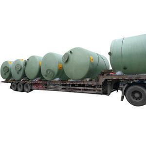 High Quality Fiber Glass Reinforced Plastics Storage Tank Silo For Liquids Storage