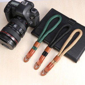 Hot Sale Camera Wrist Strap Hand Nylon Rope Camera Wrist Band Lanyard for Leica Digital SLR Camera