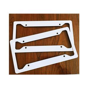 "Hot Selling Wholesale Beijing HandySub Printable Aluminum Blank Dye Sublimation Printing Car License Frame Plates 6.5""x12.25"""