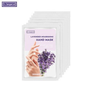 Hydration/Moisturizing/Repairing Gloves Shape Lavender Nourishing Hand Mask for Baby Soft Hands with 100% Pure Lavender Oil