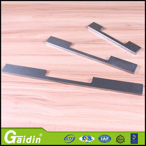 Kichen accessory extrusion aluminum profile handle aluminum pull handle glass door kitchen cabinet handles and knobs