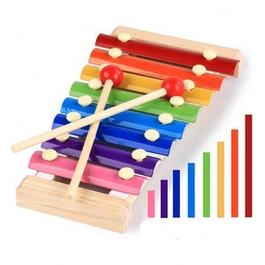 Kids toys wood Hand knocks the piano xylophone