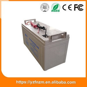 Low temperature resistance 120ah storage battery for solar system from China
