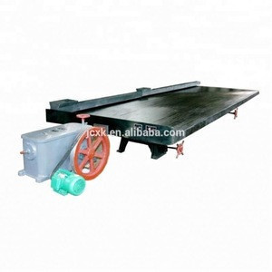 Mineral concentrator 4 meter 6-s shaking table made in china