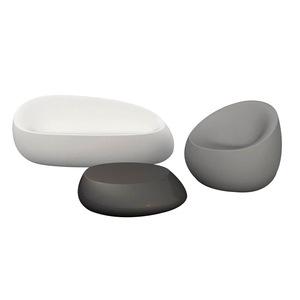 Nordic fiberglass  stone lounge sofa chair outdoor luxury furniture for garden